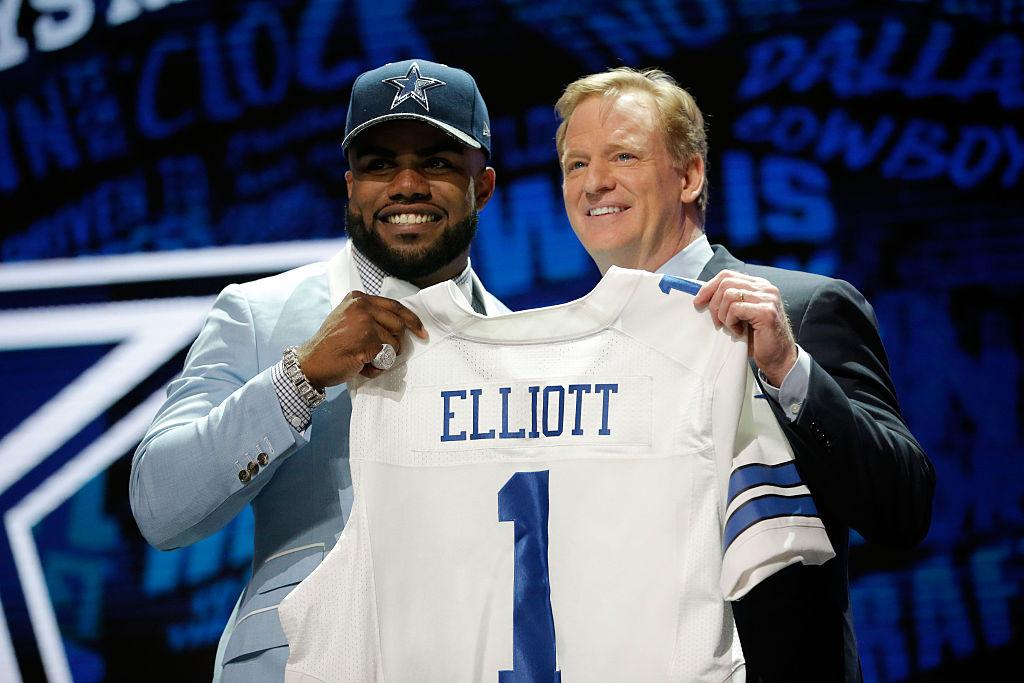 Ezekiel Elliott boasts the top-selling jersey at NFL Shop