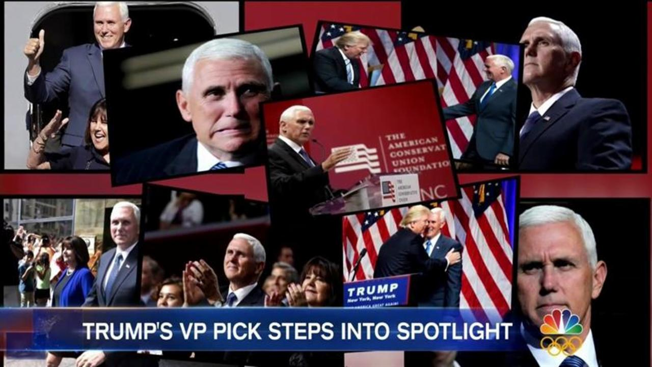 All Eyes on Governor Mike Pence in RNC Spotlight