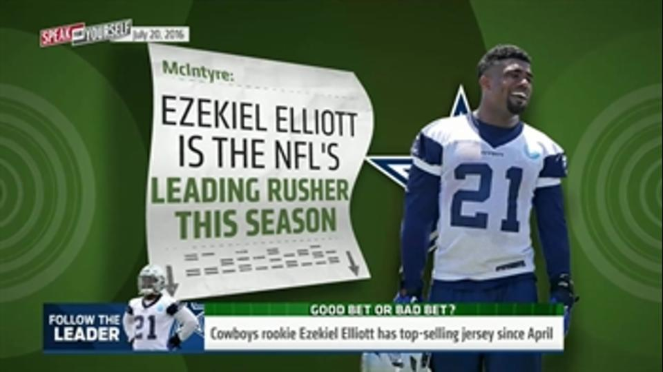 Here's why Ezekiel Elliott could be the NFL's top rusher in 2016 - 'Speak for Yourself'