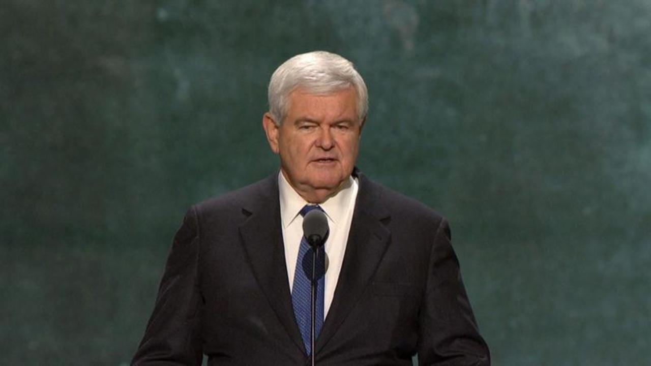 Newt Gingrich addresses RNC