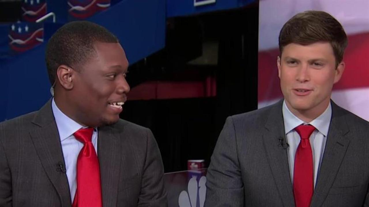 SNL's Michael Che, Colin Jost take on the RNC