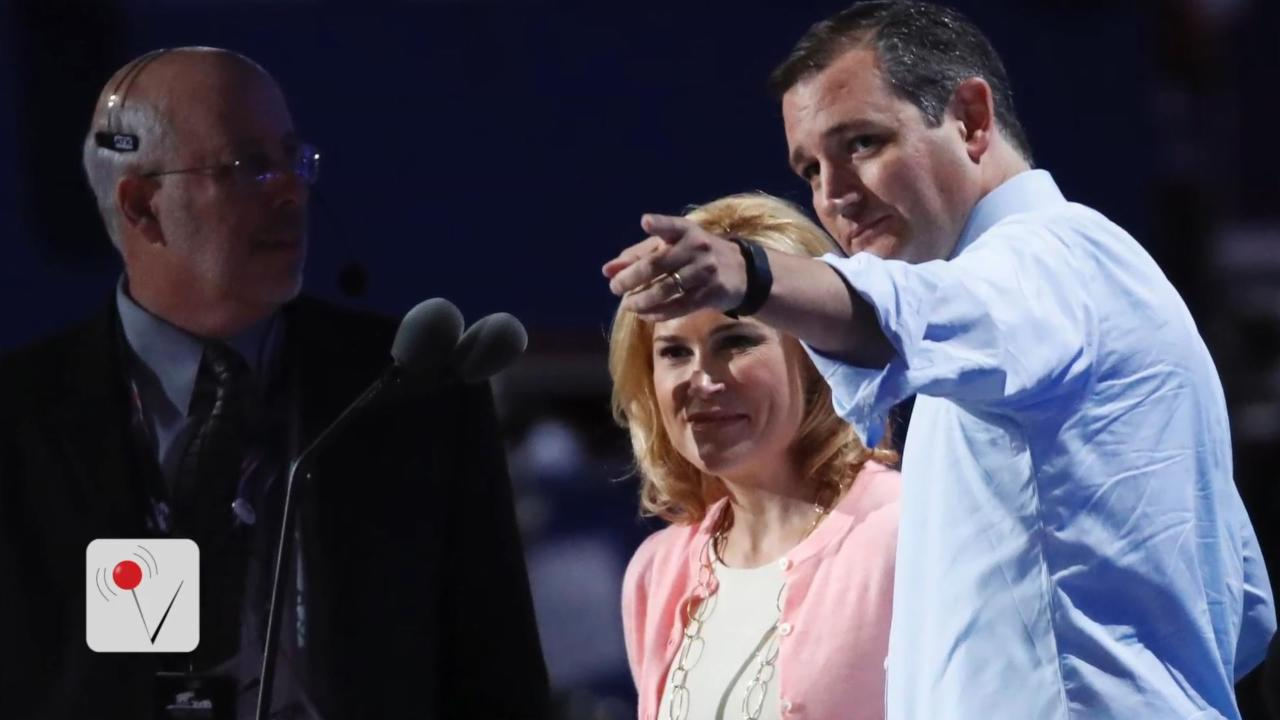 Ted Cruz's Wife Forced to Leave RNC After Crowd Taunts Her