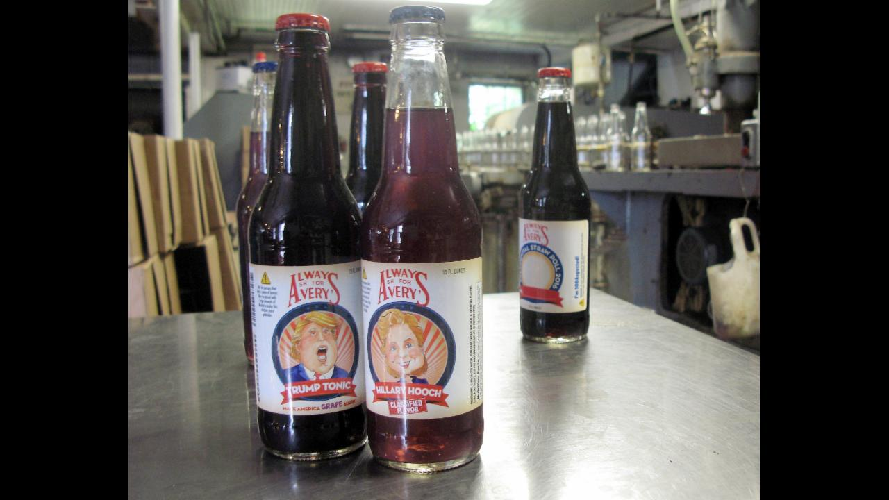Hillary Hooch and Trump Tonic are saving this 112-year-old soda business