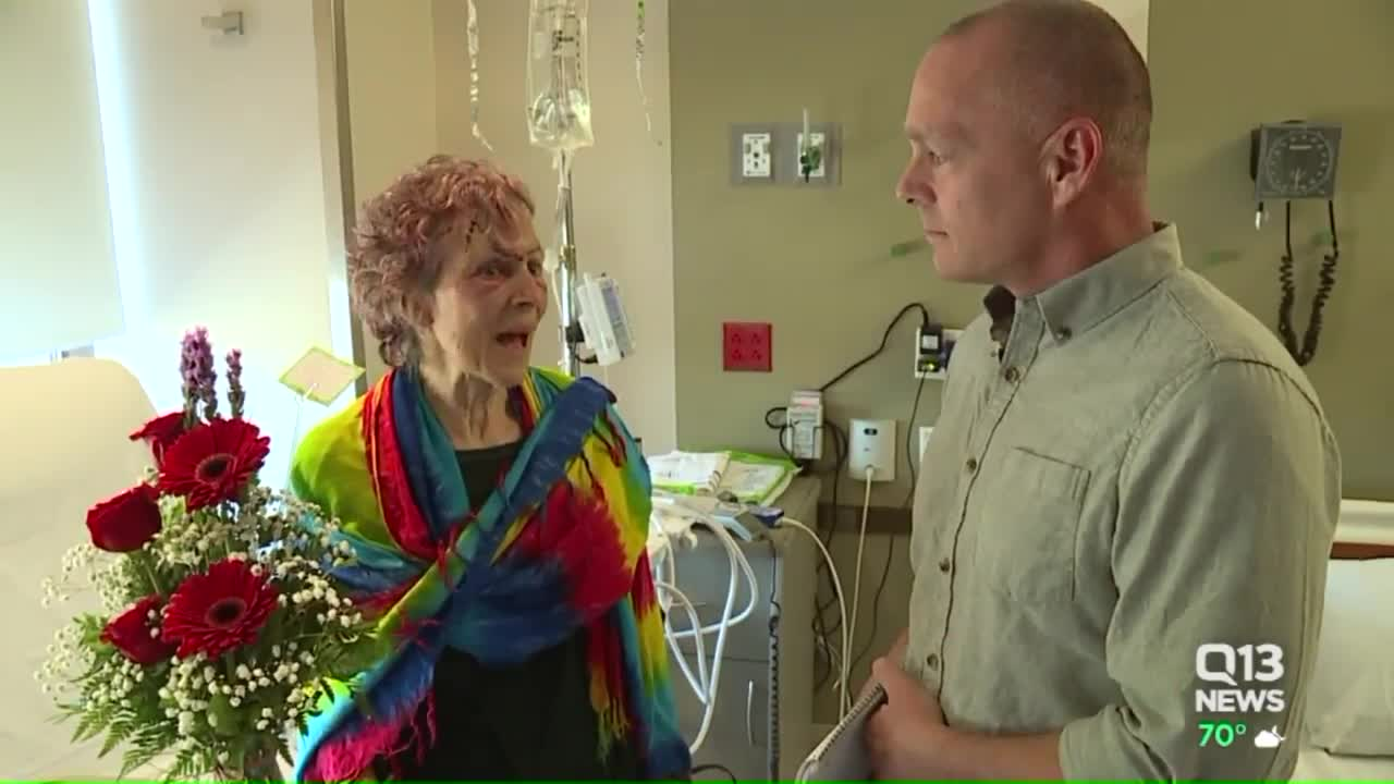 Woman Reunited With Hero Officer Who Saved Her from Burning Car