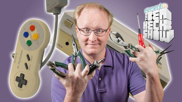 The Ben Heck Show - Episode 247 - Ben Heck's Nintendo-Playstation Prototype Part 2 Repair
