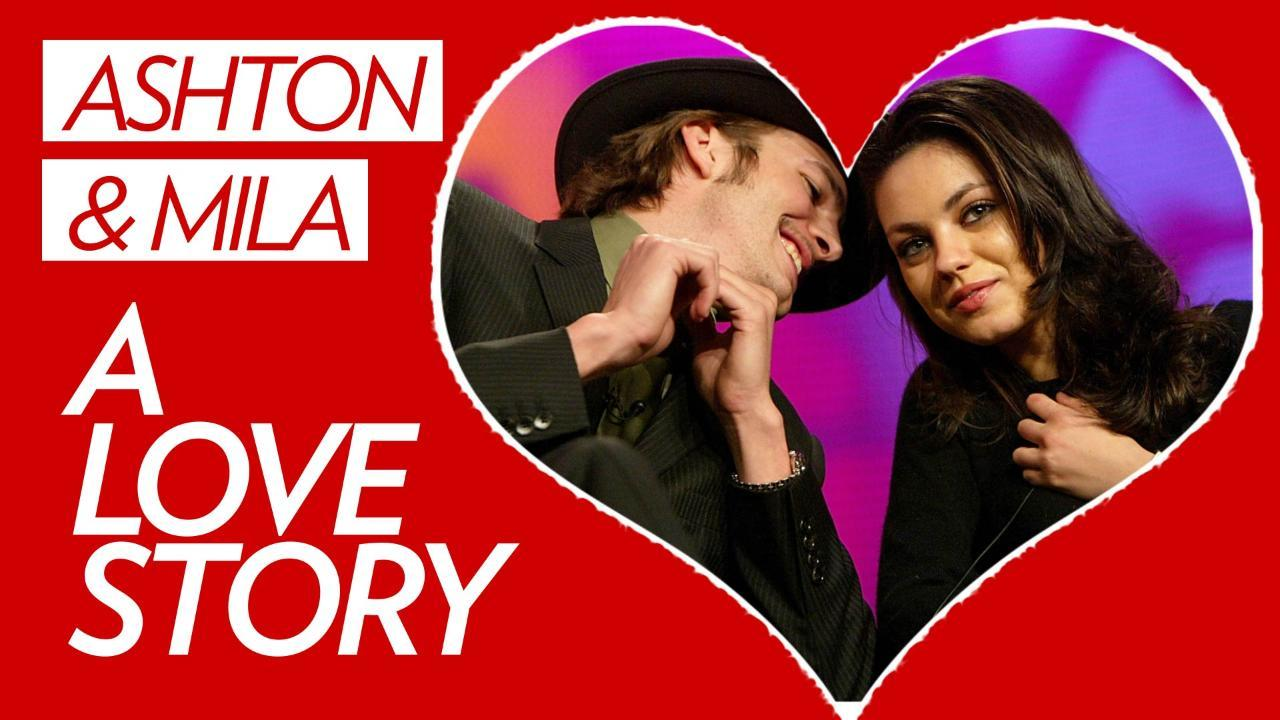A Love Story: Ashton Kutcher and Mila Kunis