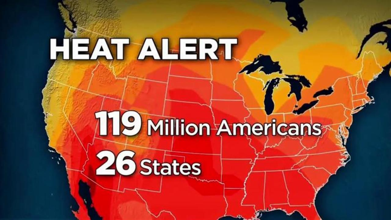 'Heat Dome' With Temps in 100s Prompts Alerts in 26 States