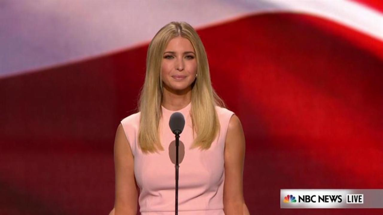 Ivanka Trump addresses RNC