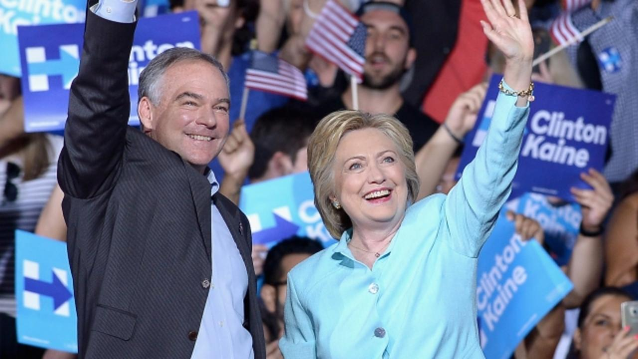 Tim Kaine Becomes Trump's Newest Nickname Victim