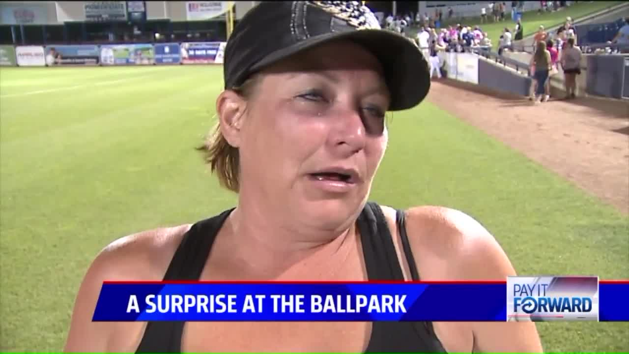 Stranger's Kindness at Baseball Game Leaves Family in Tears