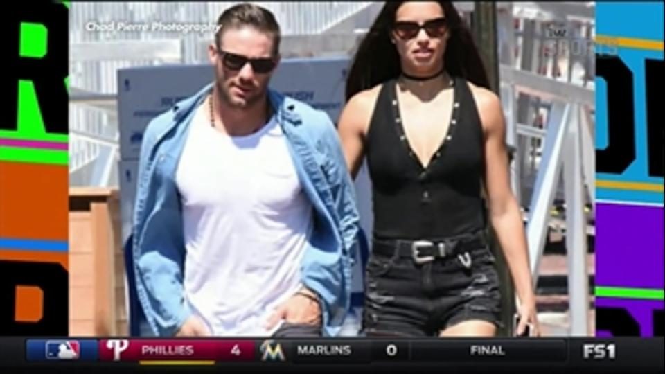 Julian Edelman dating Adriana Lima - 'TMZ Sports'