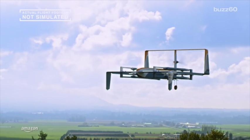 Amazon Drone Delivery One Step Closer to Getting off the Ground