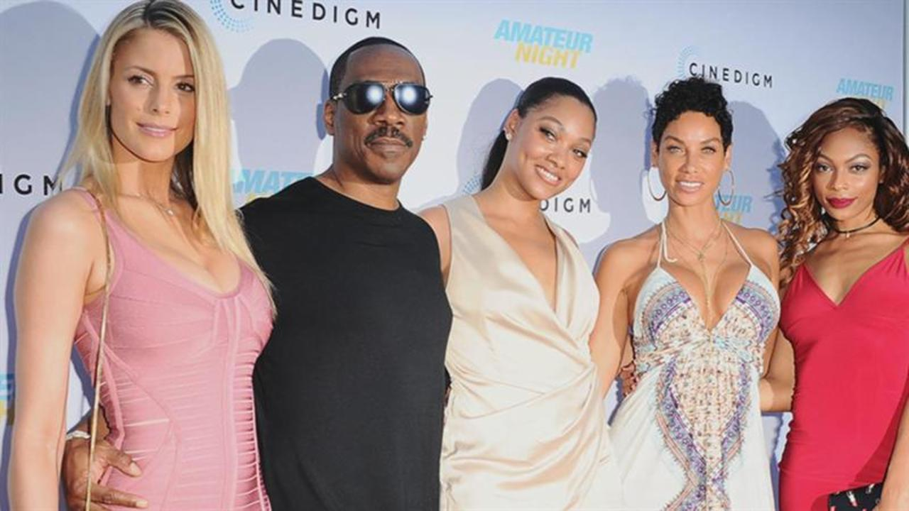 Eddie Murphy Is All About a Modern Family