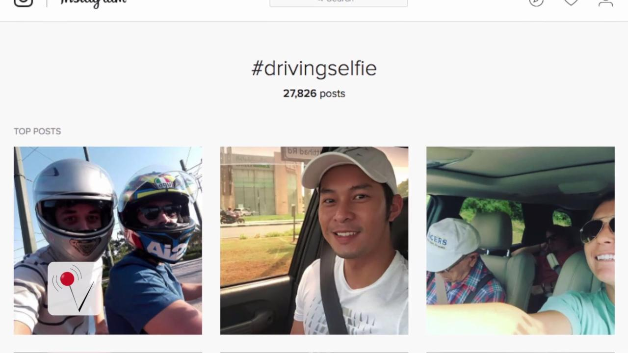 California Drivers Take More Selfies than Other States