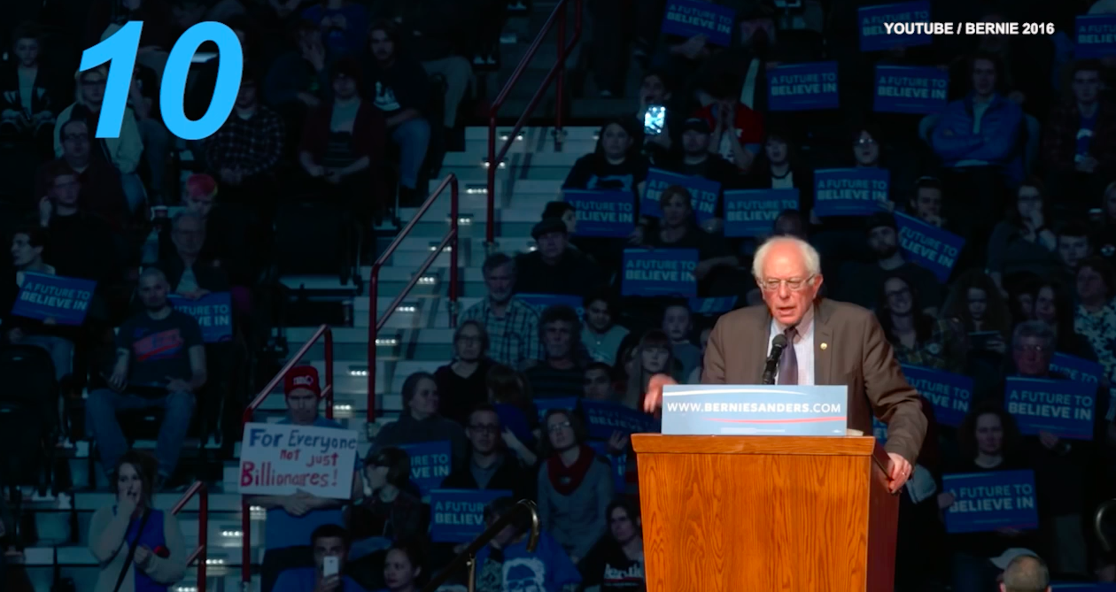 10 accomplishments Bernie Sanders' fans love