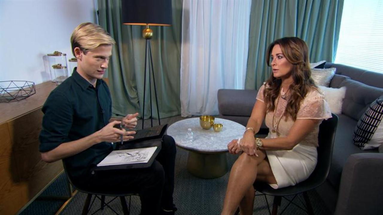 Kyle Richards Has Emotional Reading With Tyler Henry