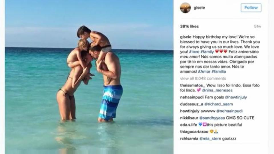 Gisele Bündchen and Tom Brady's Cutest Family Instagrams