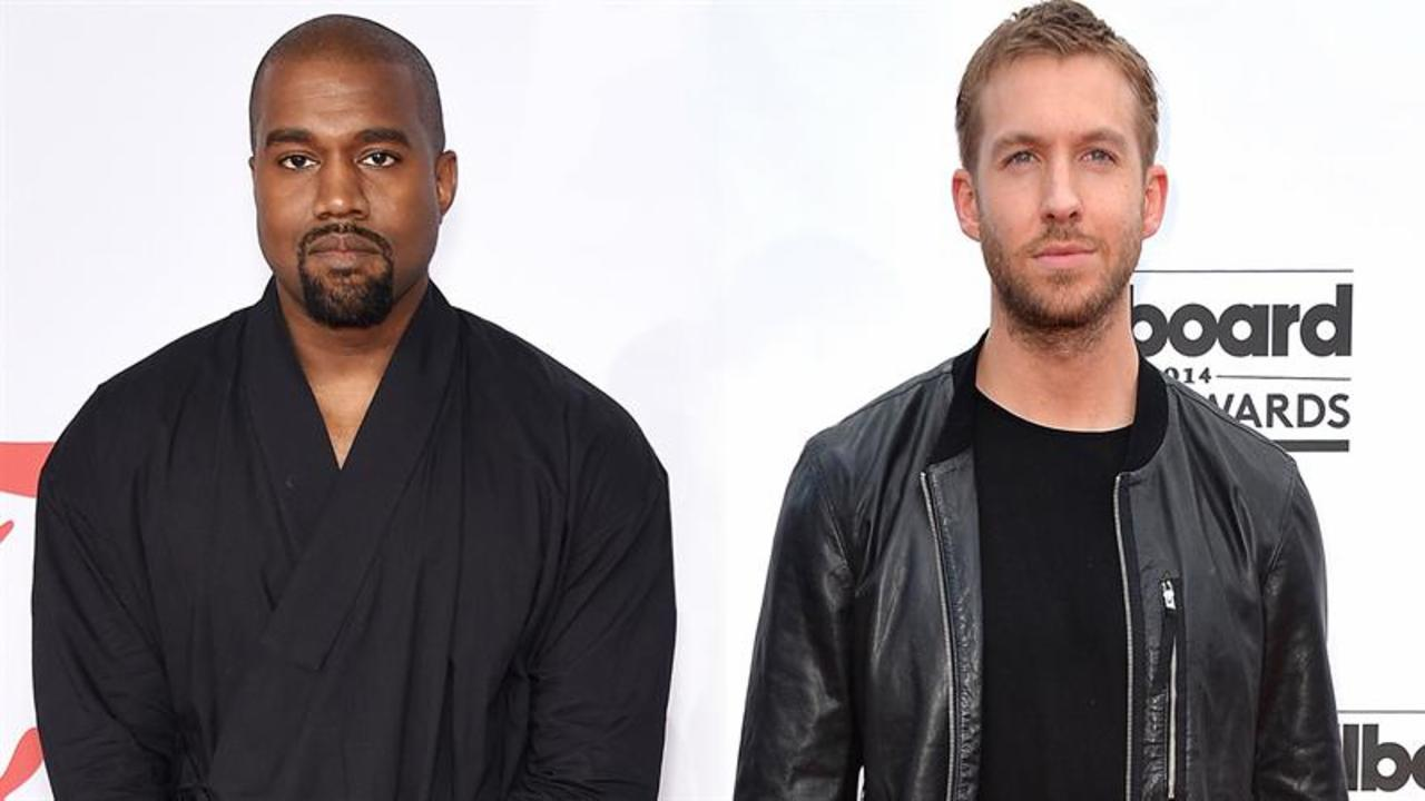 Calvin Harris May Hit the Studio with Kanye West
