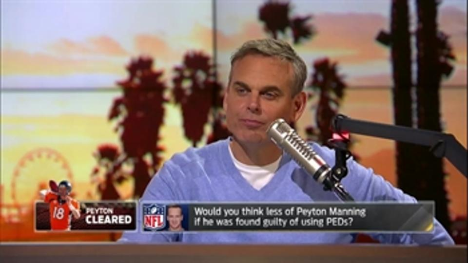Would you think less of Peyton Manning if was guilty of using PEDs? - 'The Herd'