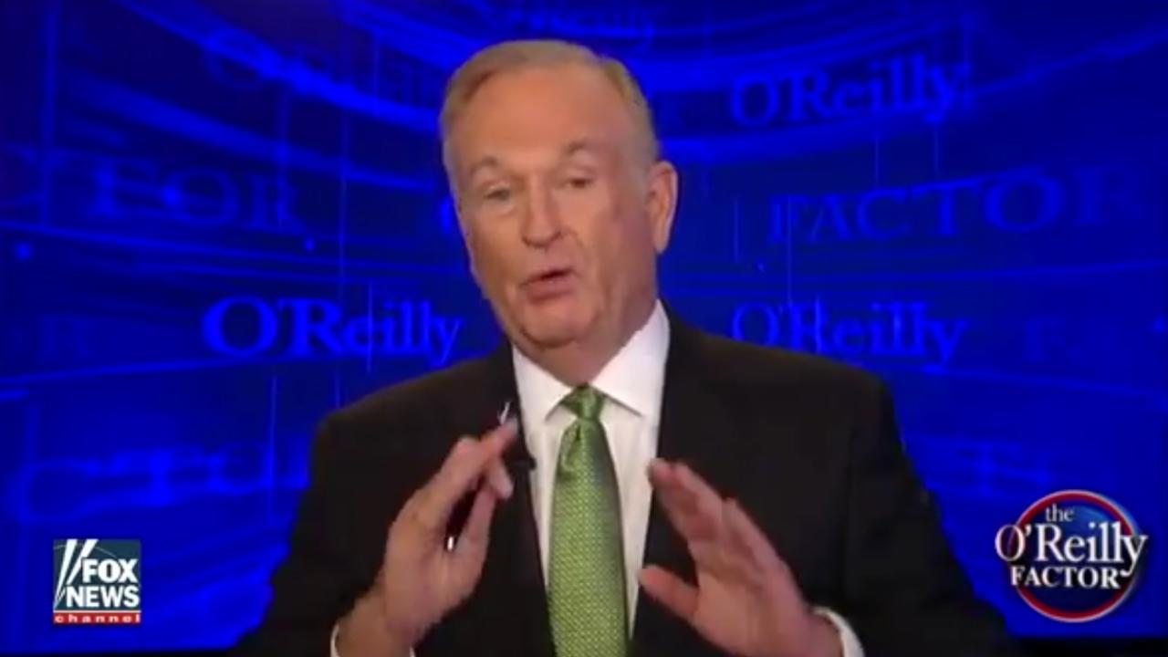 The Internet Shut Bill O'Reilly down over Slavery comment