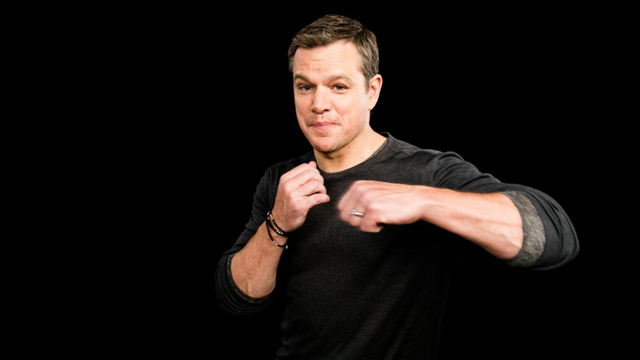 "Matt Damon On ""Jason Bourne"""
