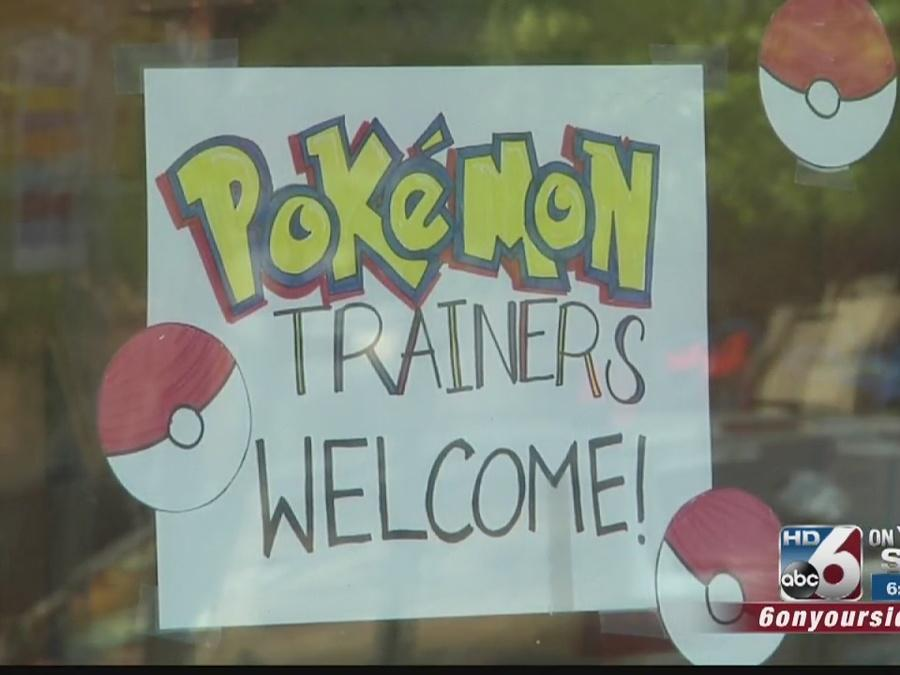 Pokemon Go helps bring in business