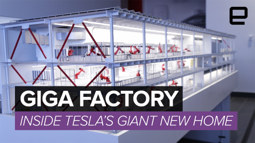 inside the gigafactory tesla s most important project