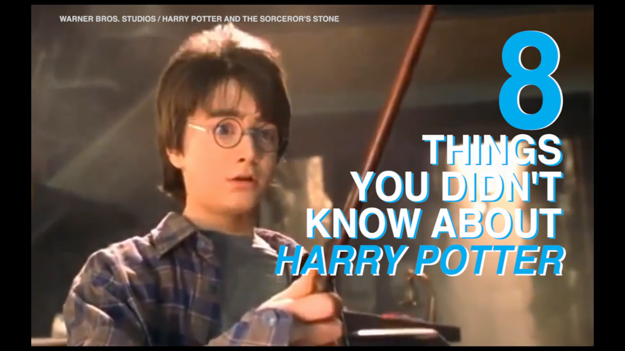8 things you didn't know about Harry Potter