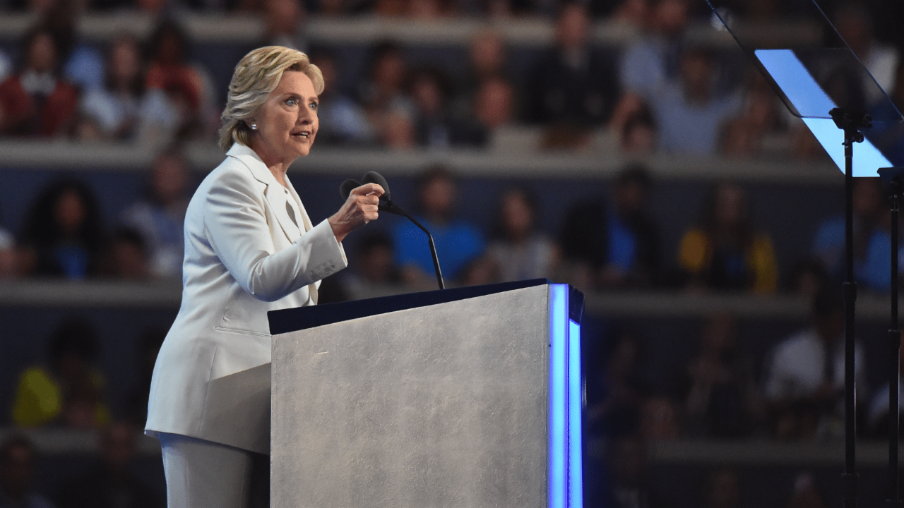 Watch Hillary Clinton's full speech at the Democratic National Convention