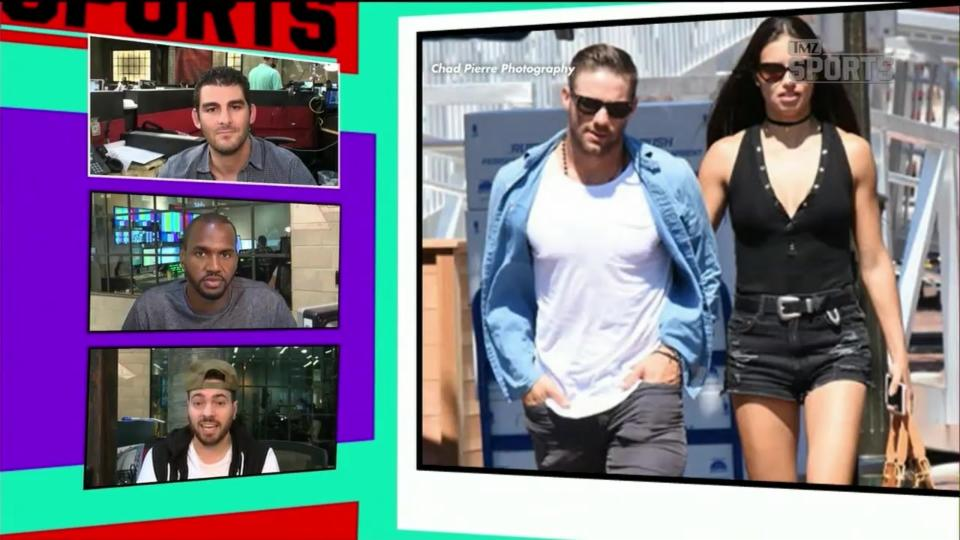 Julian Edelman has entered a love-triangle with Adriana Lima - 'TMZ Sports'