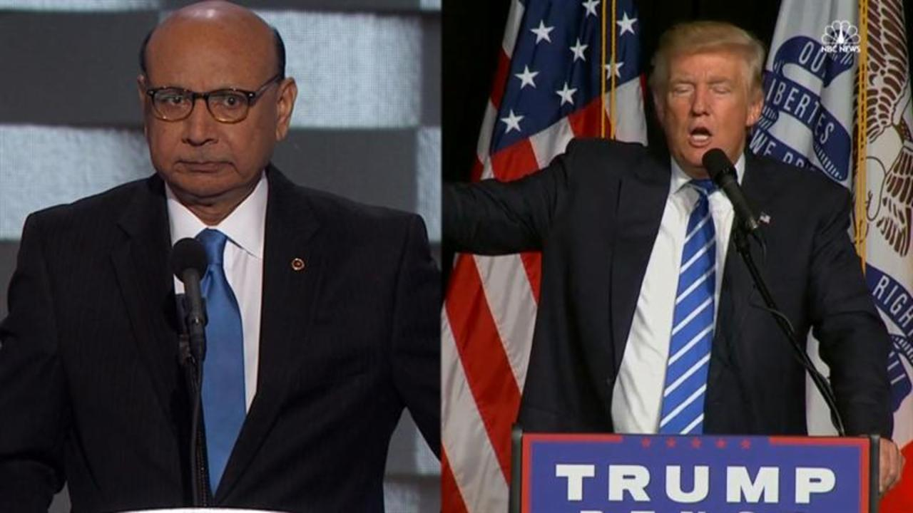 Father of a Muslim Solider Comments on Trump's Rhetoric
