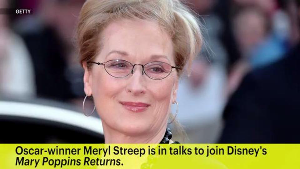 Meryl Streep in talks to join Mary Poppins Returns