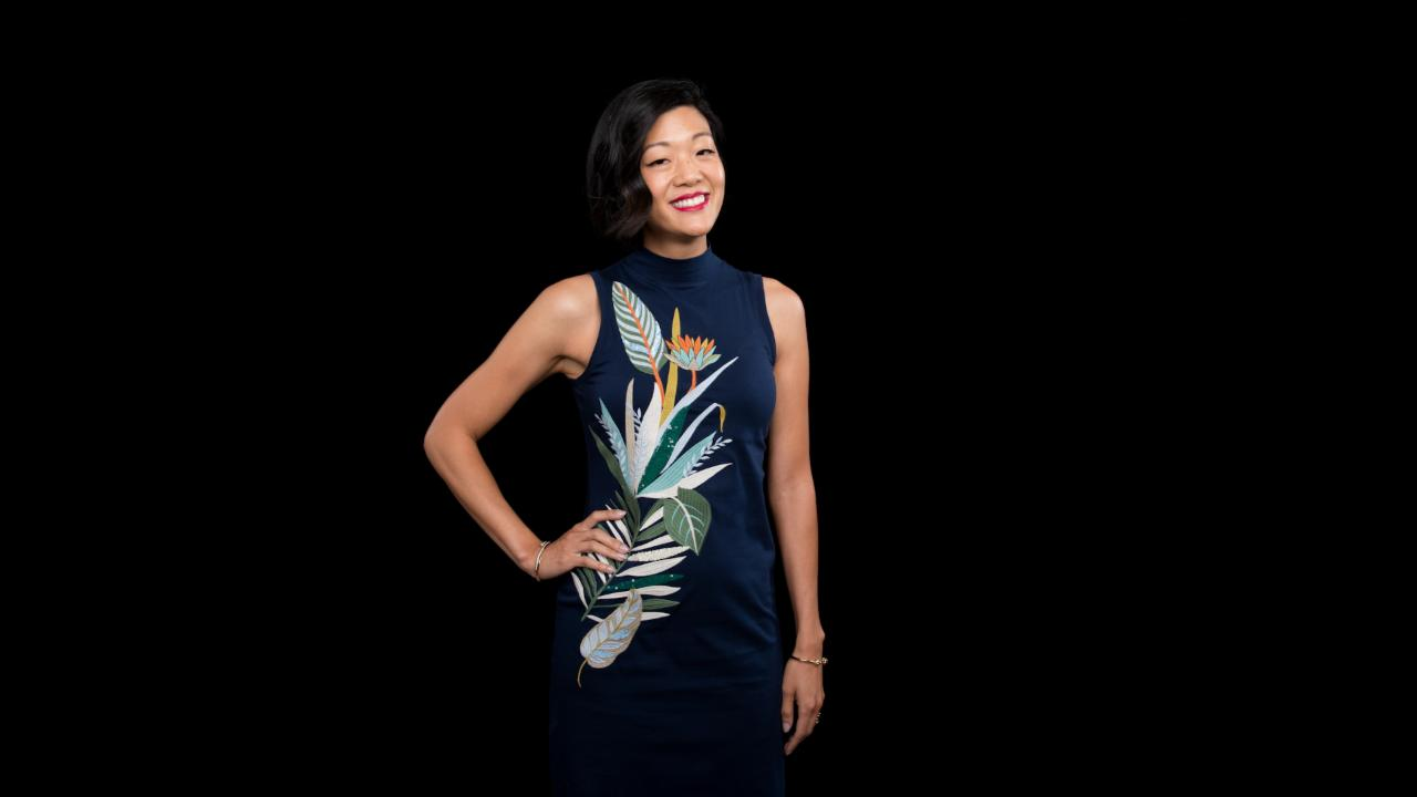 Michelle Lee On Allure Magazine