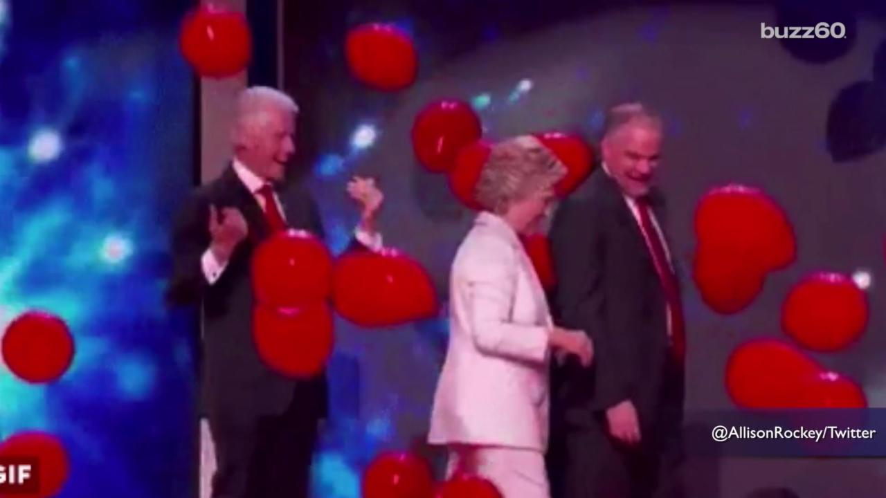 Balloon Popping is a Serious Job After the Convention Ends