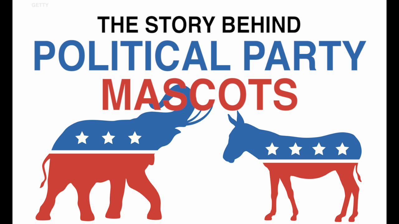 The Story Behind Political Party Mascots Aol News