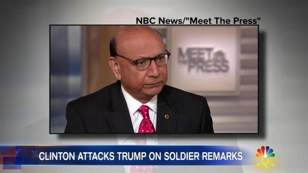 Khizr Khan Calls Trump 'Disingenuous Because of His Policies'