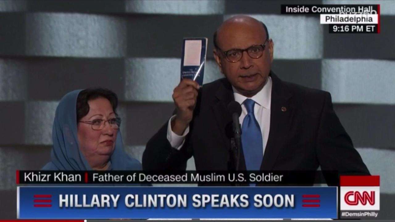 After Khan Speech, $1 Pocket Constitution Becomes Best-Seller
