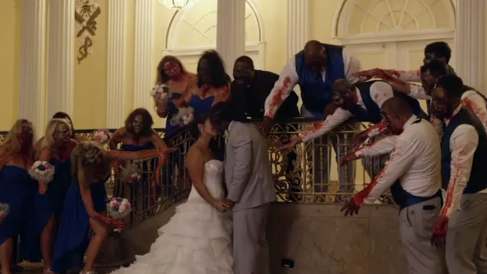 Pittsburgh Steelers' DeAngelo Williams has 'Walking Dead' themed wedding