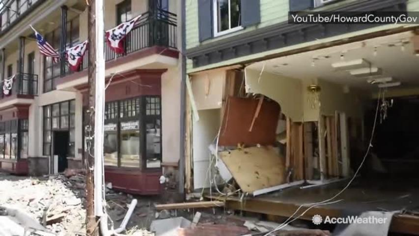 AFTERMATH: Flooding in Ellicott City leaves area in shambles