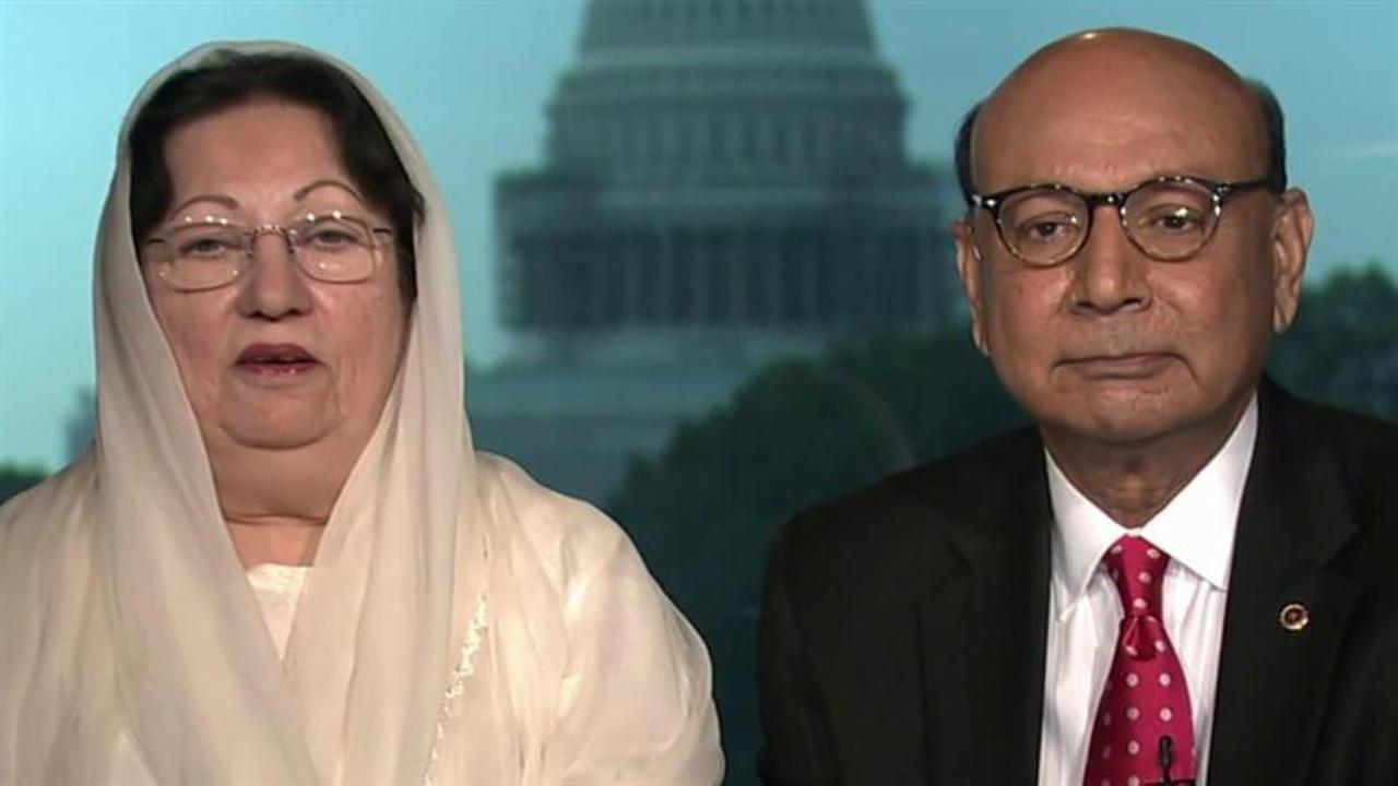 Khan family: We felt compelled to speak up