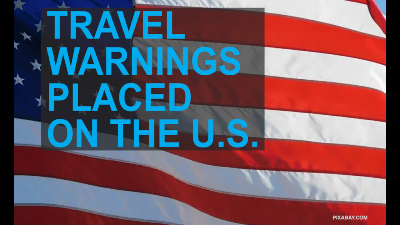 5 countries placing travel warnings on the US