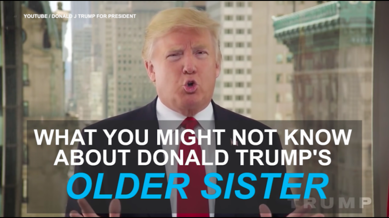 What you didn't know about Donald Trump's sister