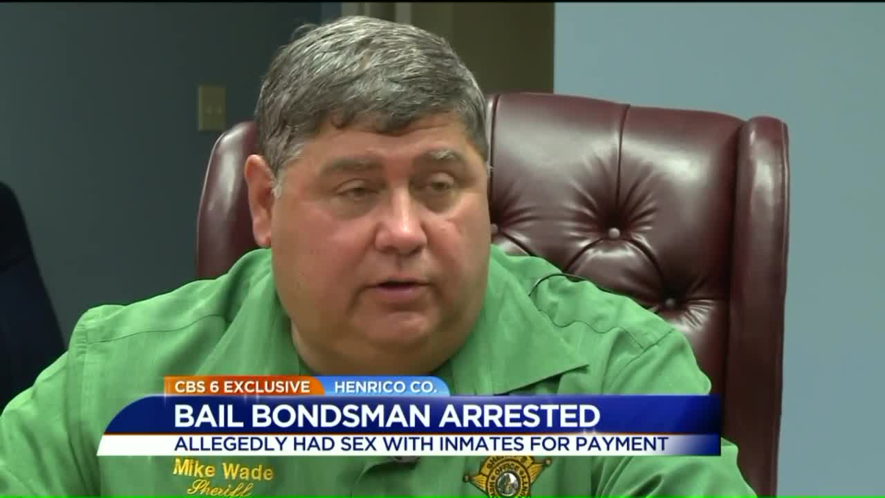 Bail Bondsman Accused of Accepting Sex from Inmates as Payment