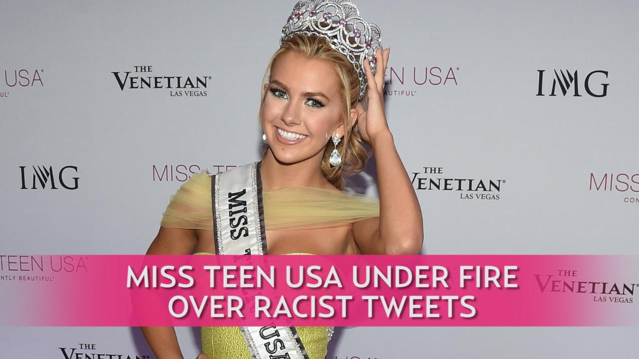 Miss Teen USA Under Fire Over Racist Tweets