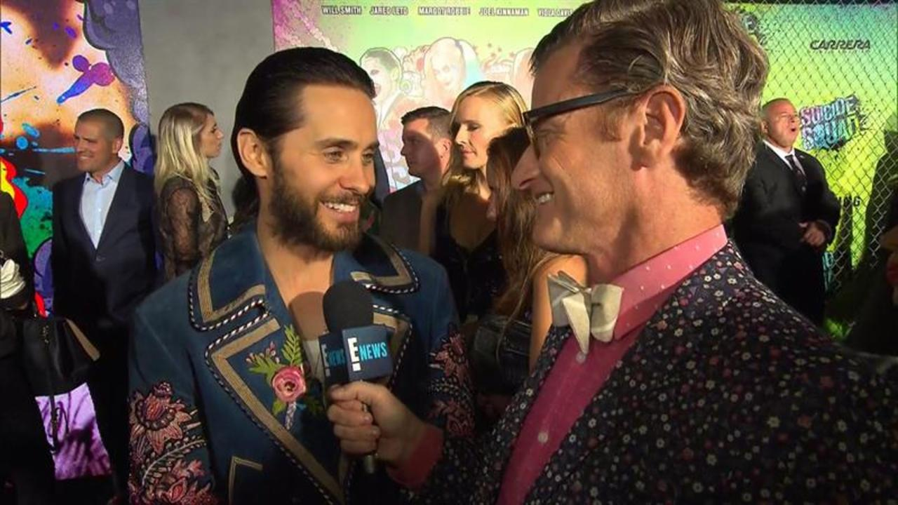 Jared Leto Dresses E!'s Marc Malkin!