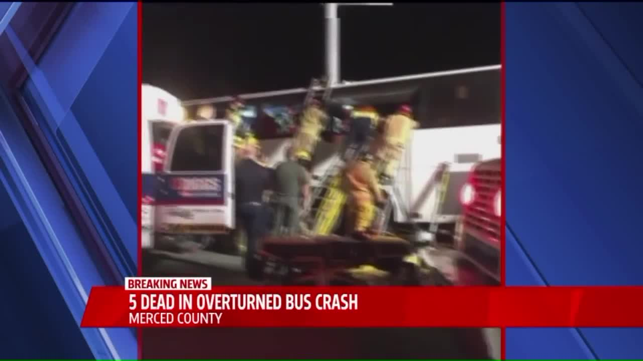 Multiple People Killed After Tour Bus Crashes in California