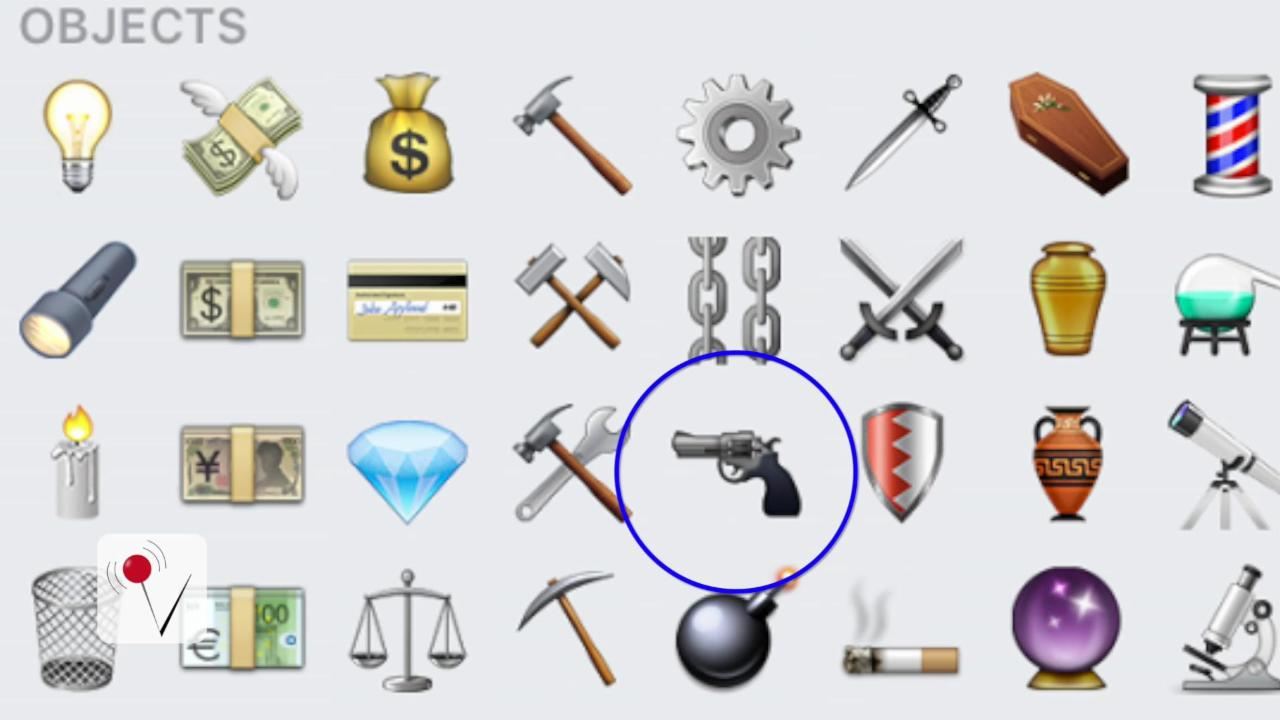 Apple Gets Political On Gun Control By Removing Pistol Emoji