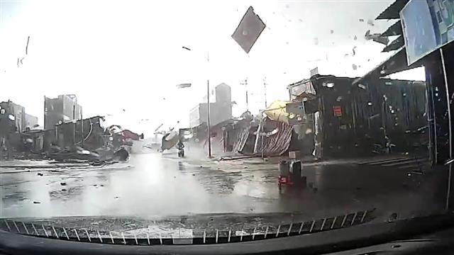 Dramatic Video of Possible Tornado in Vietnam