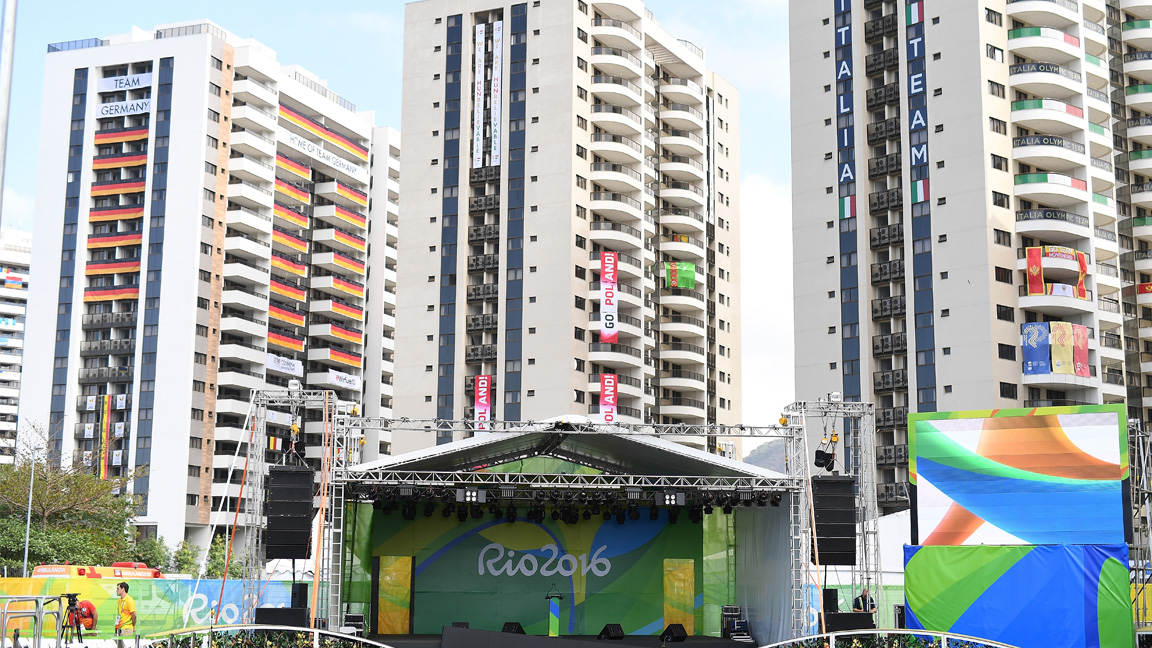 2016 Olympic Village By the Numbers