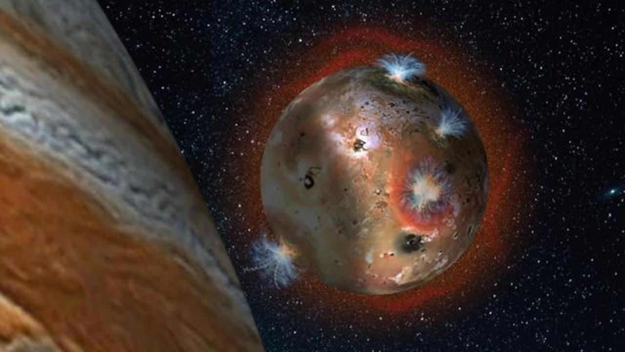 NASA: Jupiter's Moon Io 'Collapses' In Giant Planet's Shadow